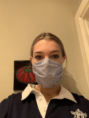 Double layer cotton masks