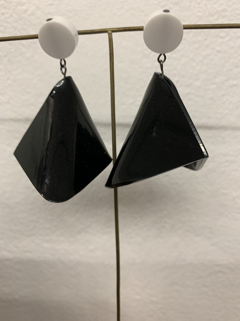 2-Perspex earrings