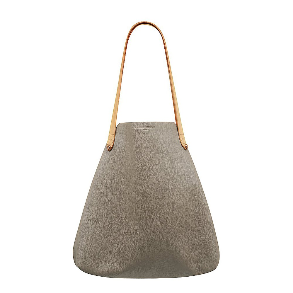 Taupe Vogue Bespoke Tote Bag by Charlie Middleton