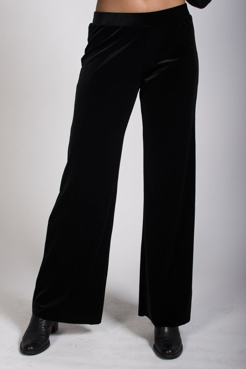 2-0434 Velvet Pants - Ruth Tate