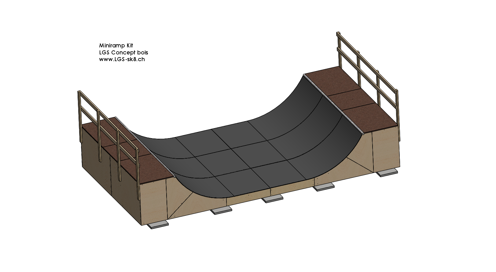 "Kit ""Personal LGS Skate-Ramp"""