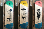 "LGS Skateboard ""Flash"" 8'4''"