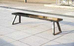 "FlatSpot ""Bench 2 go"" - portable skateboard elements"
