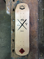 "LGS Skateboard ""Lecrew"" natural"