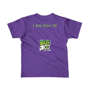 I Am Ben 10 Short Sleeve Kids T-Shirt