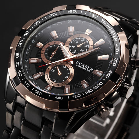 CURREN Men Watches Quartz