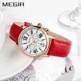 MEGIR  Women Bracelet Watches