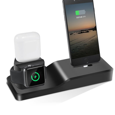 3 in 1 Apple Charging Wireless Charger Station