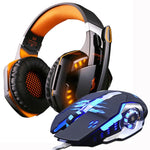 Gaming Headphones and Gaming Mouse