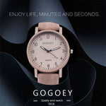 Gogoey Women's Luxury Watch
