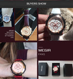 MEGIR Luxury Ladies Watch