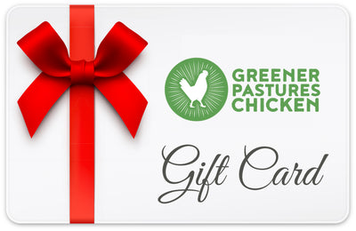 Greener Pastures Chicken Gift Card