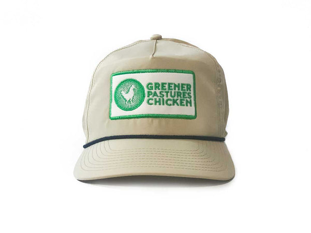 Greener Pastures Chicken First Edition Rope Hat