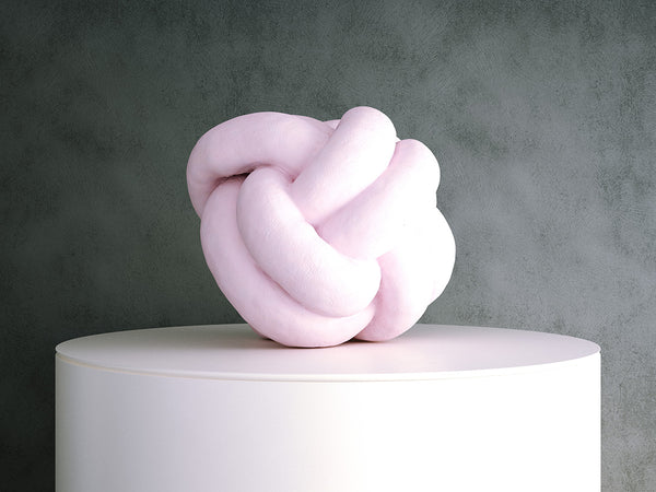 Cushion - Pink Knot