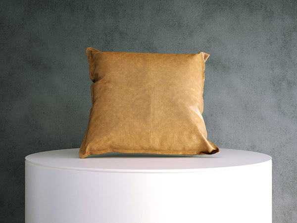 Cushion - Tan Leather