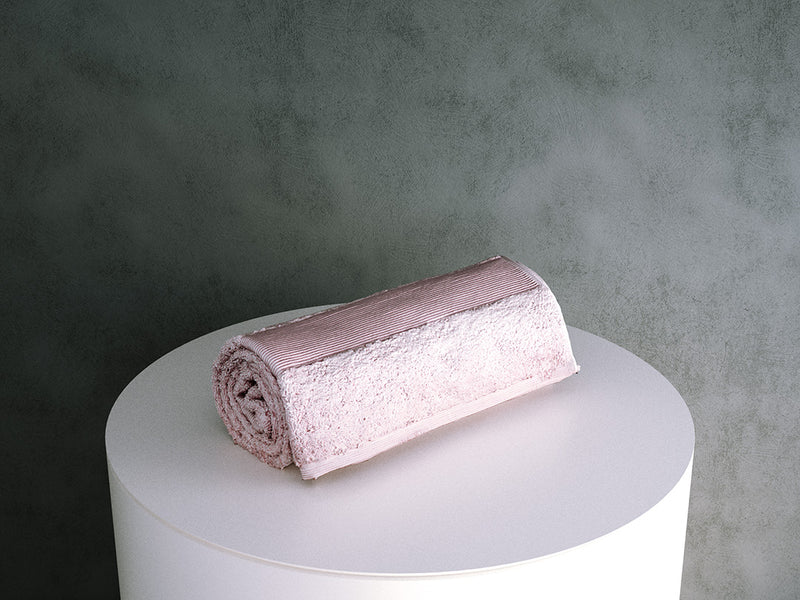 Rolled Towel (bathroom)