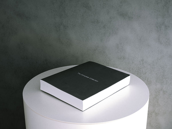 Book: Large Black Soft Cover