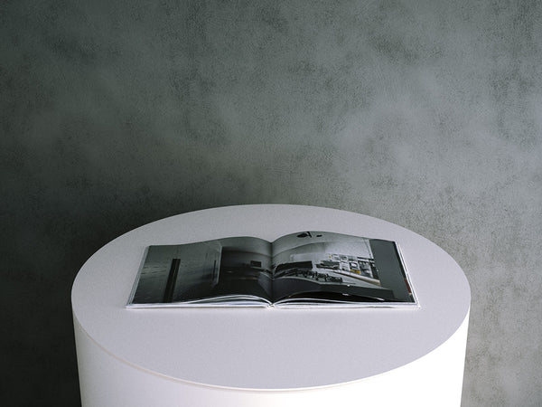 Book: Hard Cover Coffee Table Book - Open Spread