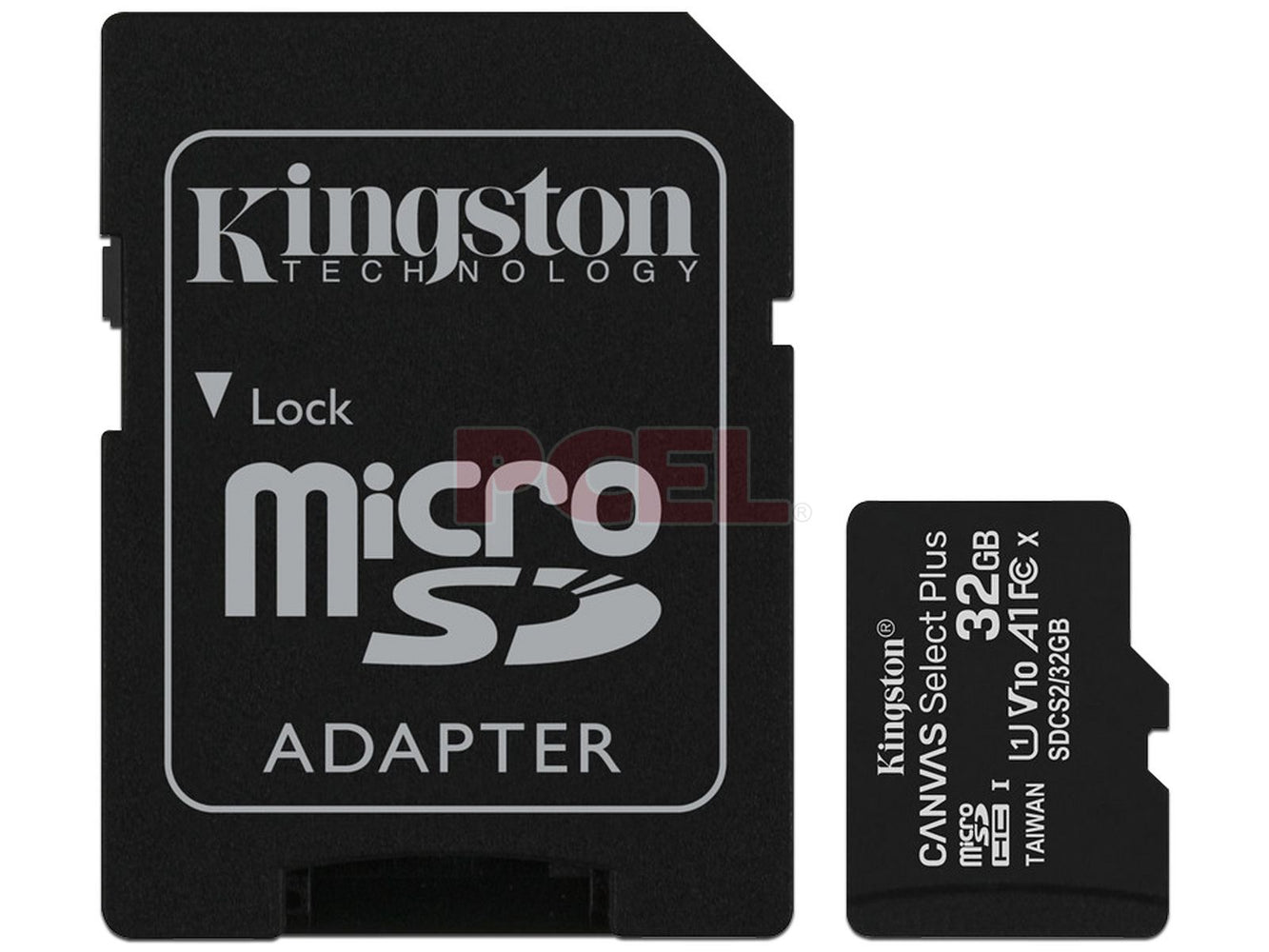 Memoria Kingston MicroSDHC C10 32GB con adaptador SD