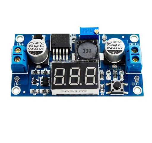 Regulador LM2596 DC-DC (Step-Down) con Display Digital