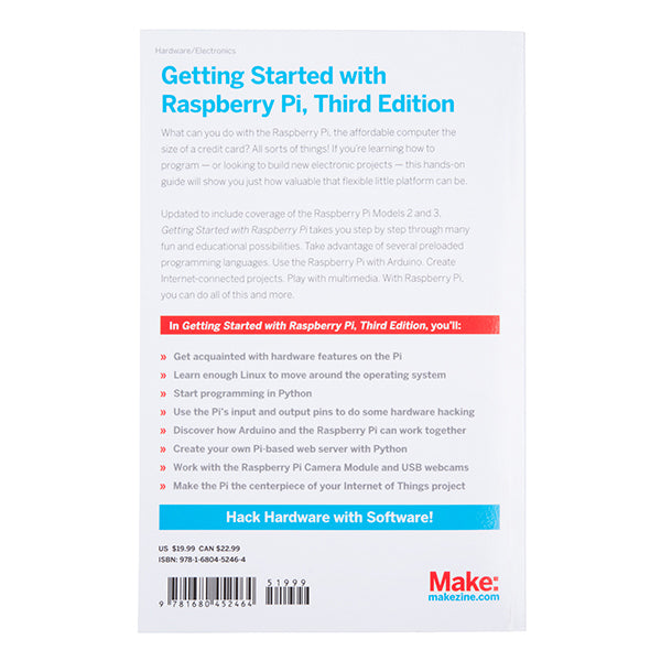Getting Started with Raspberry Pi - 3era Edición
