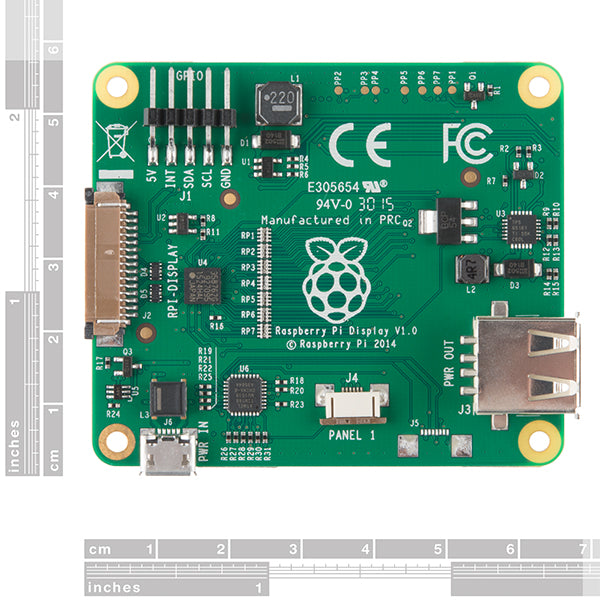 Pantalla Touch LCD 7¨ Raspberry Pi