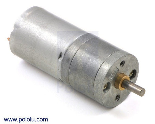 99:1 Motorreductor de Metal 25Dx54L mm MP 12V