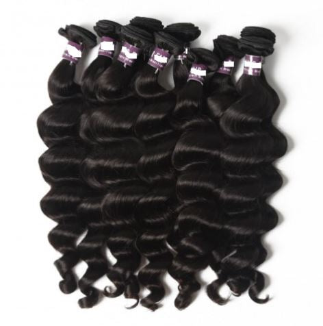 Loose Curly Brazilian Virgin Hair Bundles