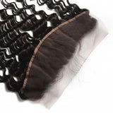 Water Wave Brazilian Virgin Hair Lace Frontal