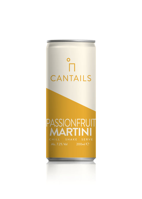 Cantails Passion Fruit Martini