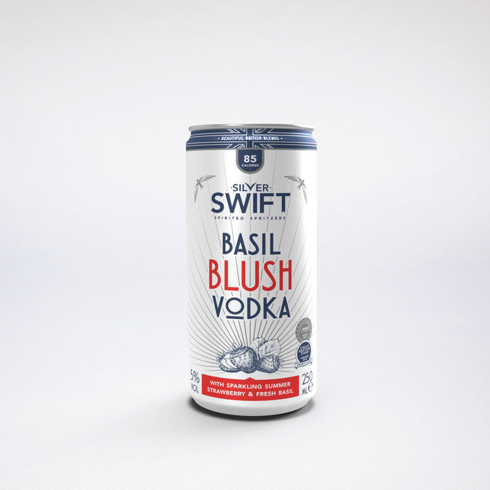 Silver Swift Basil Vodka Spritzer