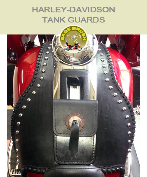Touring: Electra Glide Ultra Large Two-Piece Whaletail Tank Guard