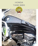 Honda Fury Standard Tank Bib with side lacing, studs, pocket, and a concho