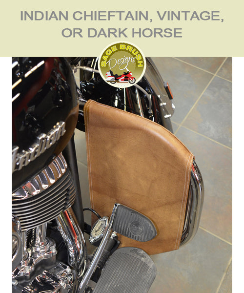 Indian Chieftain, Vintage, or Dark Horse OEM bar with tank engine guard chaps