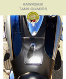 Kawasaki Tank Guards with pocket and concho