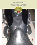 Kawasaki Tank Guards with pocket