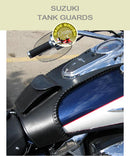 Suzuki Tank Guard with side lacing and pocket