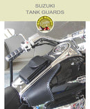 Suzuki Tank Guard with side lacing and console pocket