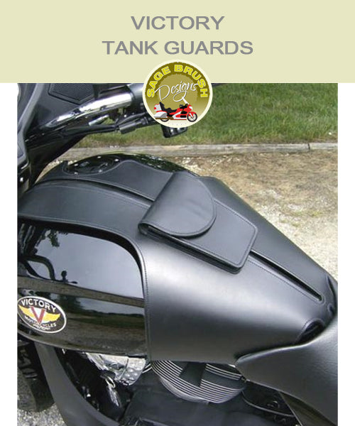 Boardwalk Large Whaletail Tank Guard with standard side hem and a pocket
