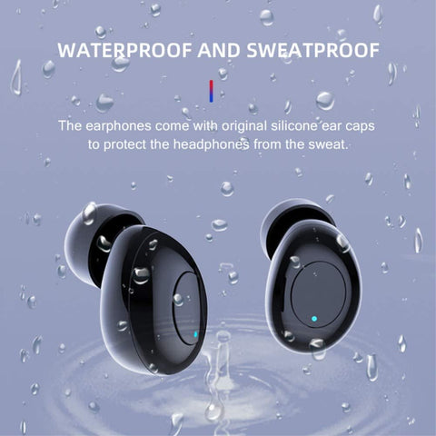 Tws wireless headset for iPhone & Android Bluetooth noise canceling sport earbuds 5.0 earphone waterproof 2020 headphone