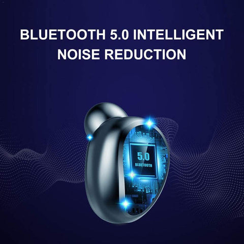 TWS earphones Bluetooth headset earbuds wireless for iPhone & Android noise canceling sport 5.0 waterproof 2020 headphone
