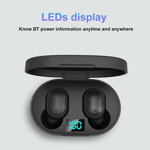 Noise cancelling headphone Waterproof earbuds TWS 5.0 earphones Bluetooth headset wireless for iPhone & Android sport 2020