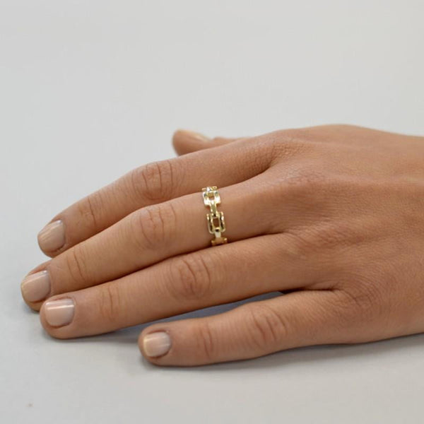 Anillo CHAINED - jewels by agathe