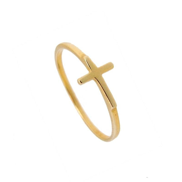 Anillo CROSS Gold - jewels by agathe