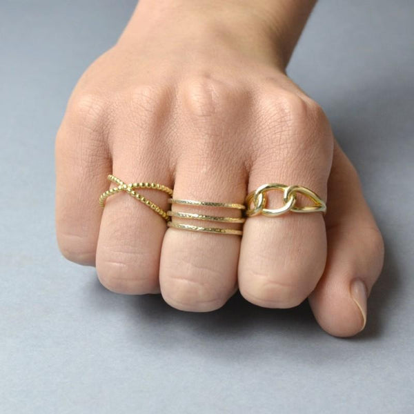 Anillo KNOT - jewels by agathe