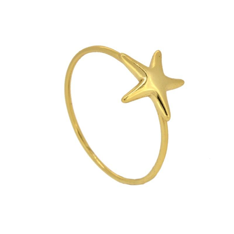 Anillo LITTLE STAR GOLD - jewels by agathe