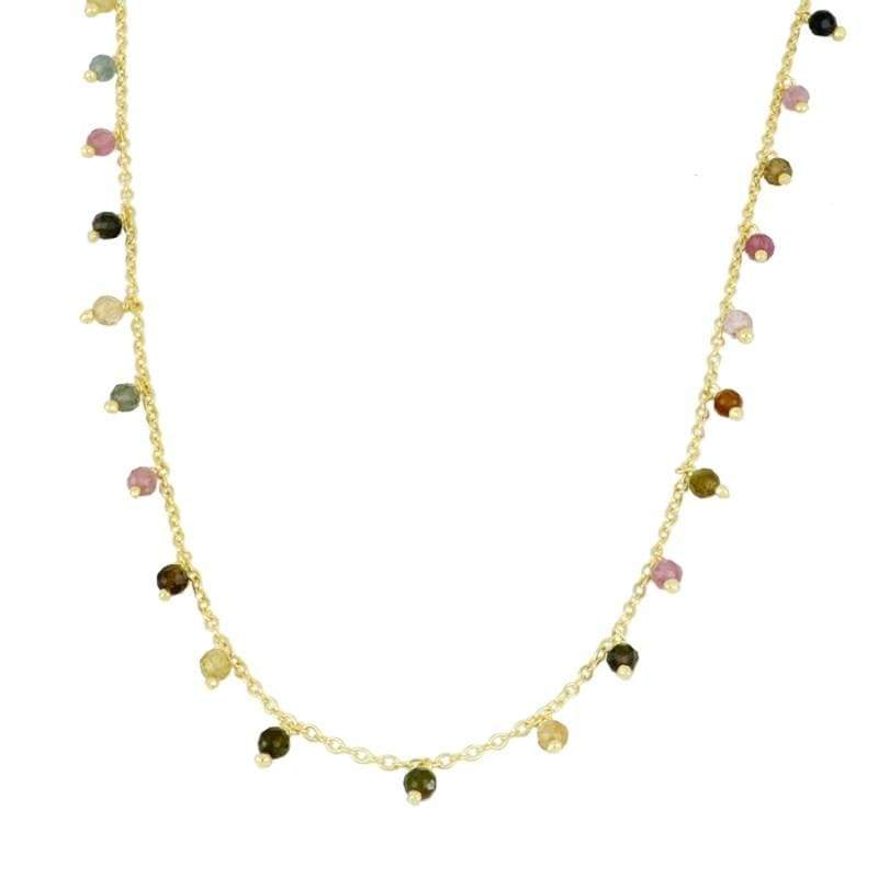 CONFETTI Gold collar - jewels by agathe