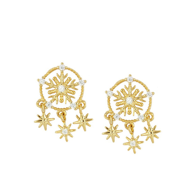 SNOWFLAKES Pendientes - jewels by agathe