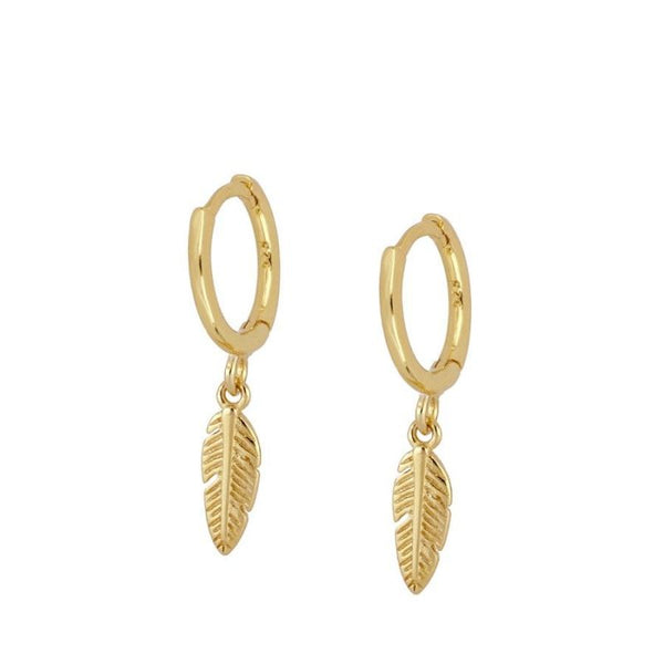jewelsbyagathe,FEATHER Pendientes,jewelsbyagathe,PENDIENTES.