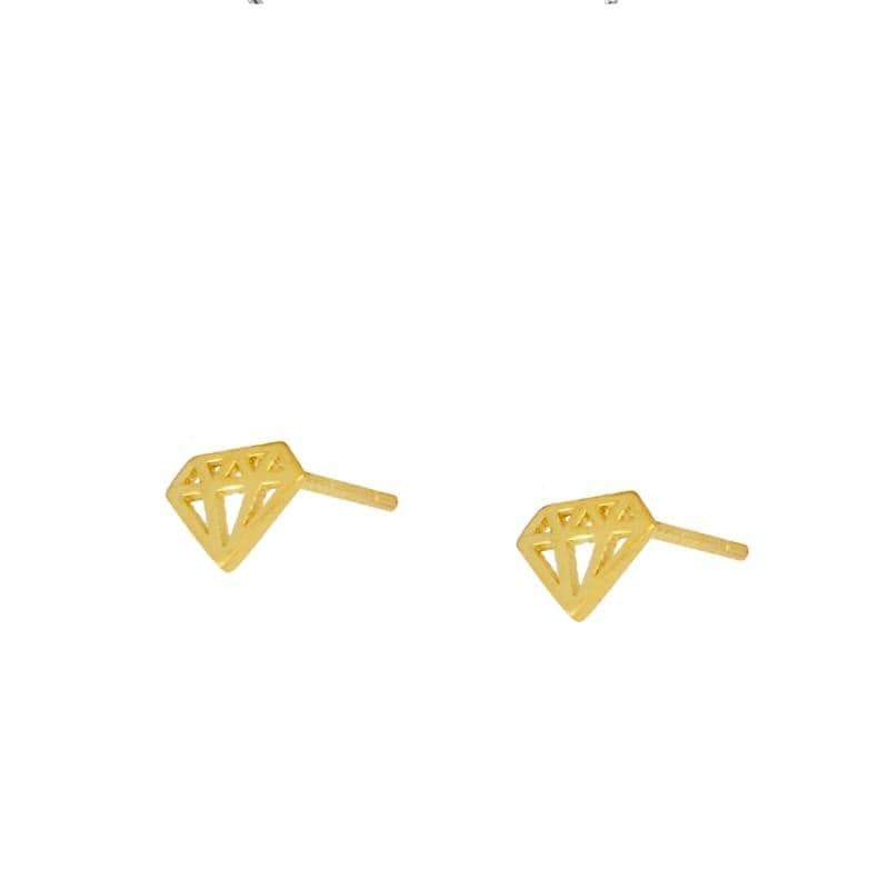 DIAMOND Pendientes - jewels by agathe
